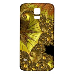 Special Fractal 35cp Samsung Galaxy S5 Back Case (white)