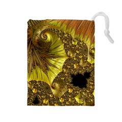 Special Fractal 35cp Drawstring Pouches (large)