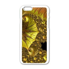 Special Fractal 35cp Apple Iphone 6 White Enamel Case