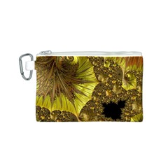 Special Fractal 35cp Canvas Cosmetic Bag (S)
