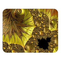 Special Fractal 35cp Double Sided Flano Blanket (large)