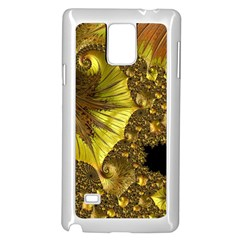 Special Fractal 35cp Samsung Galaxy Note 4 Case (white)