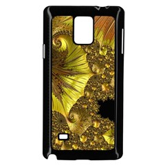 Special Fractal 35cp Samsung Galaxy Note 4 Case (Black)