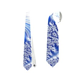 Special Fractal 17 Blue Neckties (one Side)