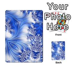 Special Fractal 17 Blue Multi Purpose Cards (rectangle)