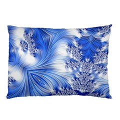 Special Fractal 17 Blue Pillow Cases
