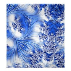 Special Fractal 17 Blue Shower Curtain 66  x 72  (Large)