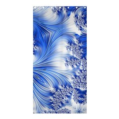 Special Fractal 17 Blue Shower Curtain 36  X 72  (stall)