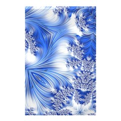 Special Fractal 17 Blue Shower Curtain 48  x 72  (Small)