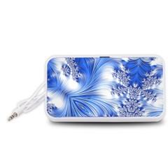 Special Fractal 17 Blue Portable Speaker (White)