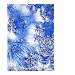 Special Fractal 17 Blue Small Garden Flag (Two Sides)