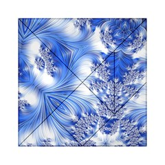 Special Fractal 17 Blue Acrylic Tangram Puzzle (6  X 6 )