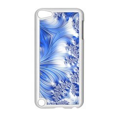 Special Fractal 17 Blue Apple Ipod Touch 5 Case (white)