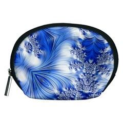 Special Fractal 17 Blue Accessory Pouches (medium)