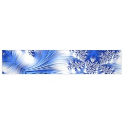 Special Fractal 17 Blue Flano Scarf (Small)