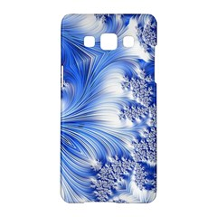 Special Fractal 17 Blue Samsung Galaxy A5 Hardshell Case