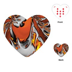 Special Fractal 24 Terra Playing Cards (Heart)