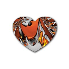 Special Fractal 24 Terra Heart Coaster (4 Pack)
