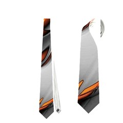 Special Fractal 24 Terra Neckties (two Side)