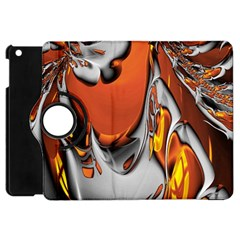 Special Fractal 24 Terra Apple Ipad Mini Flip 360 Case
