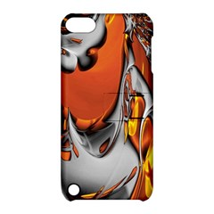 Special Fractal 24 Terra Apple Ipod Touch 5 Hardshell Case With Stand