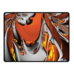 Special Fractal 24 Terra Double Sided Fleece Blanket (Small)
