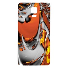 Special Fractal 24 Terra Galaxy Note 4 Back Case