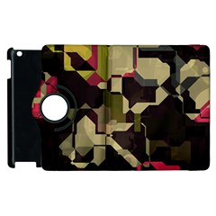 Techno Puzzle Apple Ipad 3/4 Flip 360 Case