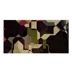 Techno puzzle Satin Shawl