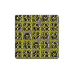 Plastic Shapes Pattern Magnet (square)