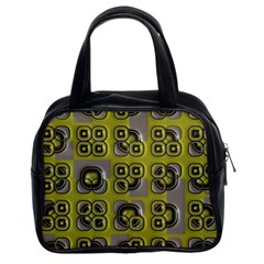 Plastic Shapes Pattern Classic Handbag (two Sides)