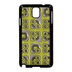 Plastic Shapes Pattern Samsung Galaxy Note 3 Neo Hardshell Case