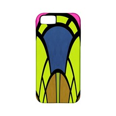 Distorted Symmetrical Shapes Apple Iphone 5 Classic Hardshell Case (pc+silicone)