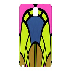 Distorted Symmetrical Shapes Samsung Galaxy Note 3 N9005 Hardshell Back Case