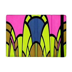 Distorted Symmetrical Shapes	apple Ipad Mini 2 Flip Case