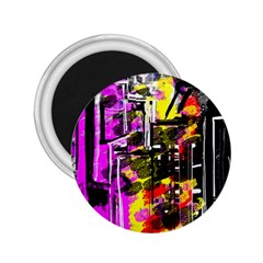 Abstract City View 2.25  Magnets