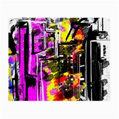Abstract City View Small Glasses Cloth