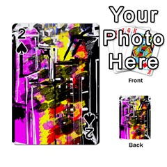 Abstract City View Playing Cards 54 Designs