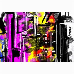 Abstract City View Collage 12  X 18