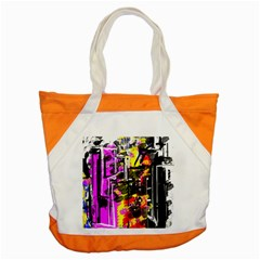 Abstract City View Accent Tote Bag