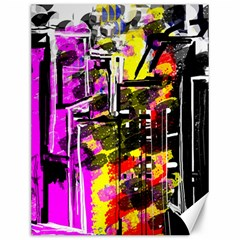 Abstract City View Canvas 12  X 16