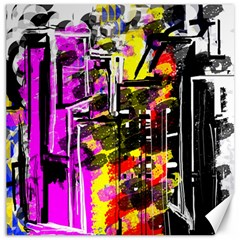 Abstract City View Canvas 20  x 20