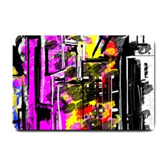 Abstract City View Small Doormat