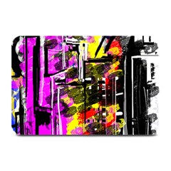 Abstract City View Plate Mats
