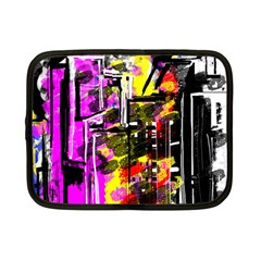 Abstract City View Netbook Case (small)