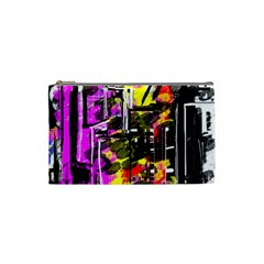 Abstract City View Cosmetic Bag (small)