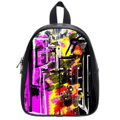 Abstract City View School Bags (small)