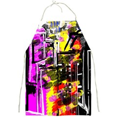 Abstract City View Full Print Aprons