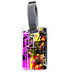 Abstract City View Luggage Tags (Two Sides)