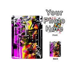 Abstract City View Playing Cards 54 (Mini)